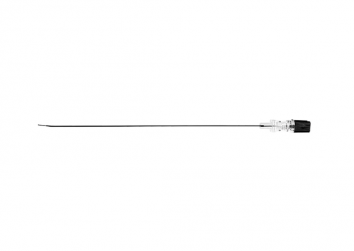 Radiofrequency Neddle Curved Tip